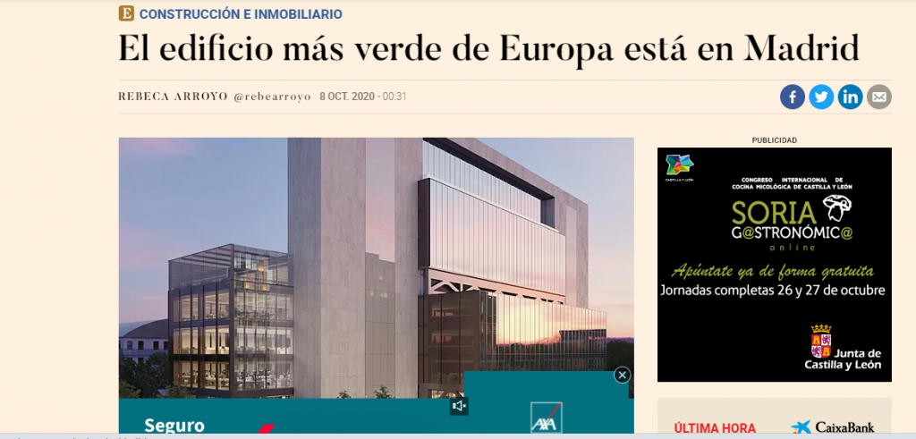 el edificio mas verde de europa